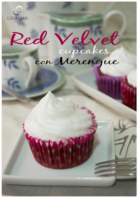 Red Velvet Cupcakes con Merengue
