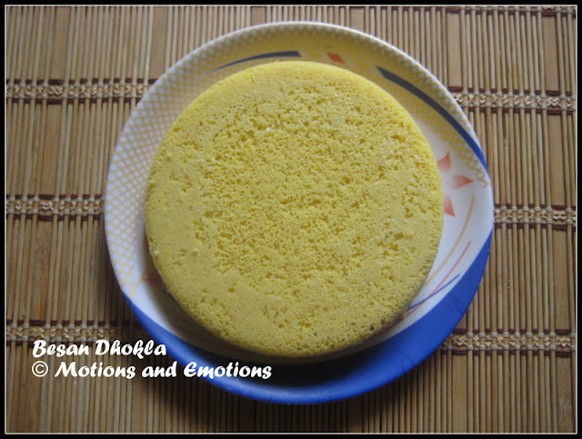 Besan Dhokla / Instant Dhokla