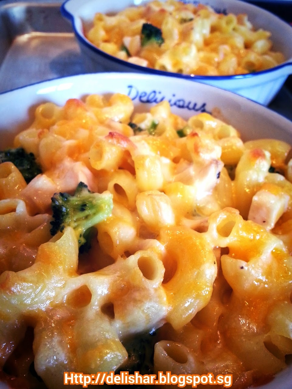 Chicken Broccoli Mac & Cheese
