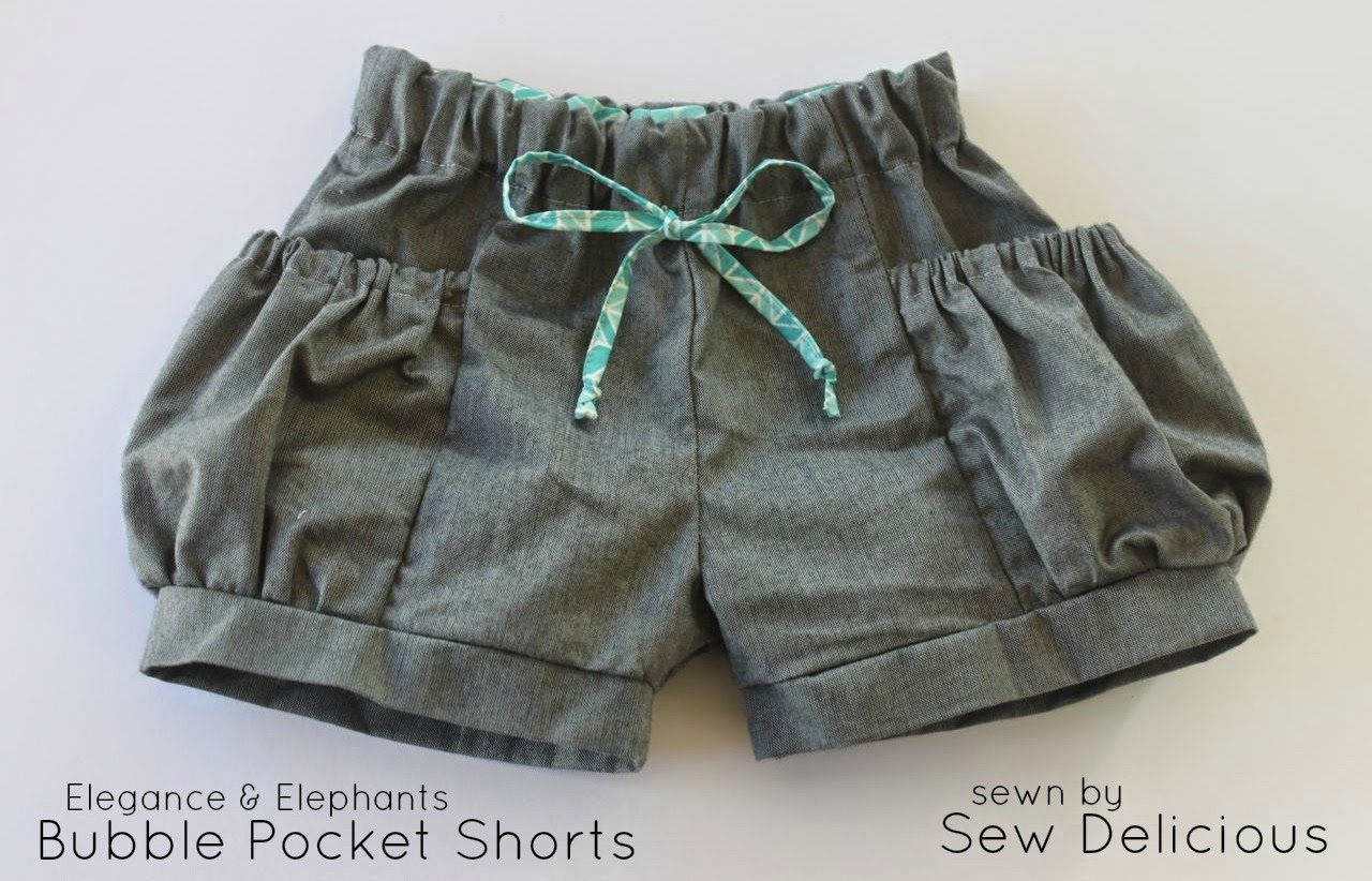 Bubble Pocket Shorts : Shorts on the Line