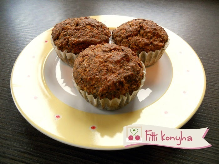 Fitti almás muffin recept