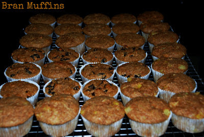 Bran Muffins and Everyone Loves a Parade