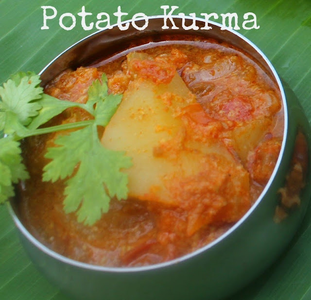 Potato Kurma from Tamil Nadu