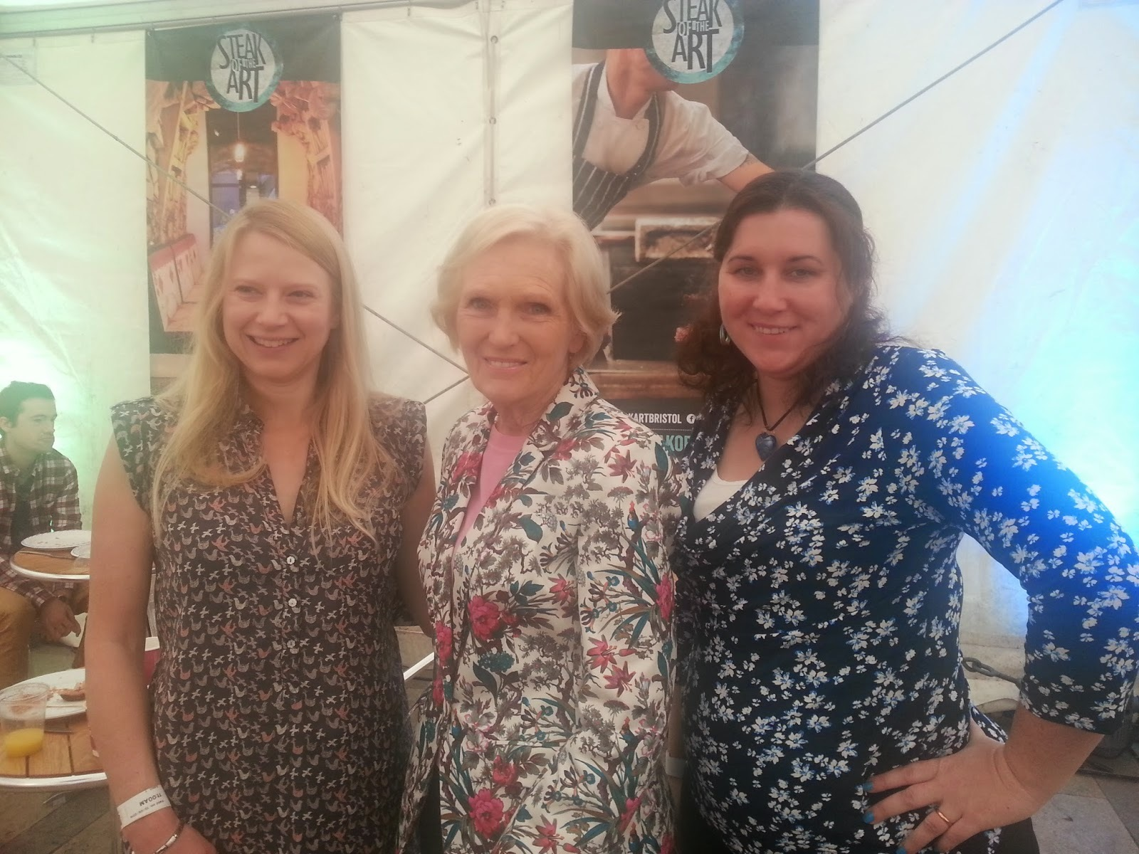 Meeting Mary Berry...