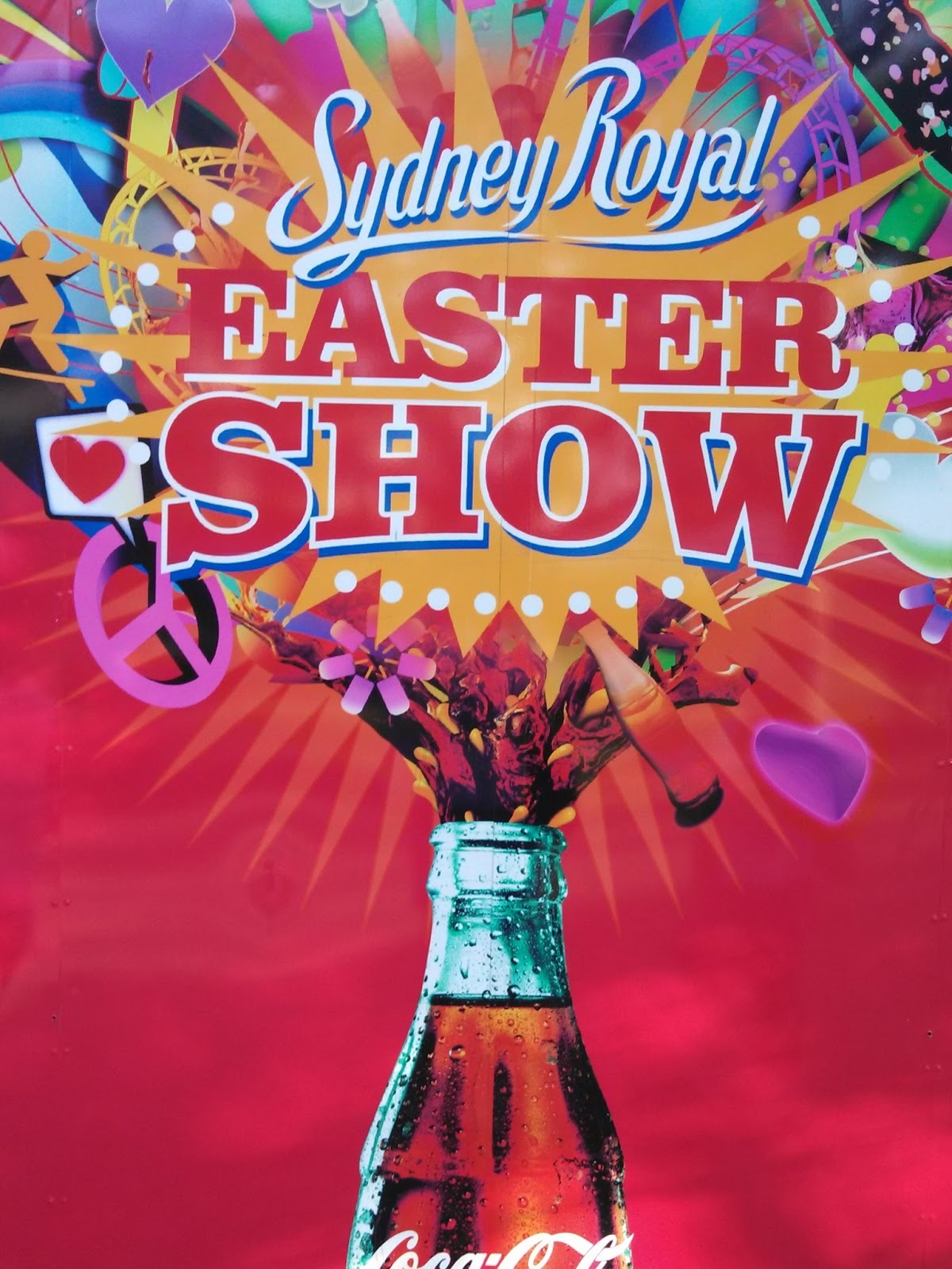 Sydney Royal Easter Show & Coca-Cola Cake