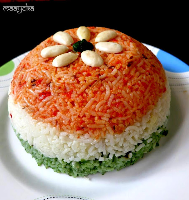 different types of veg pulao