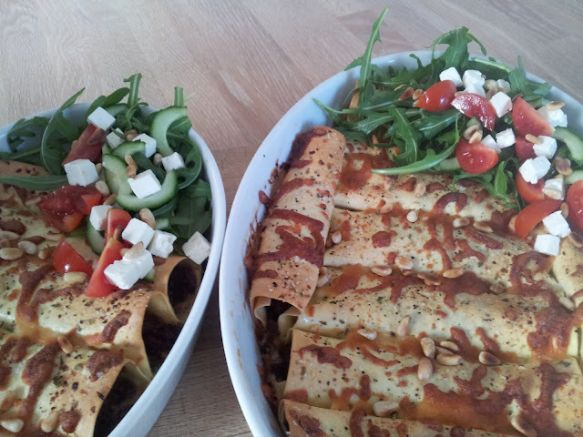 Cannelloni With Sun-Dried Tomatoes