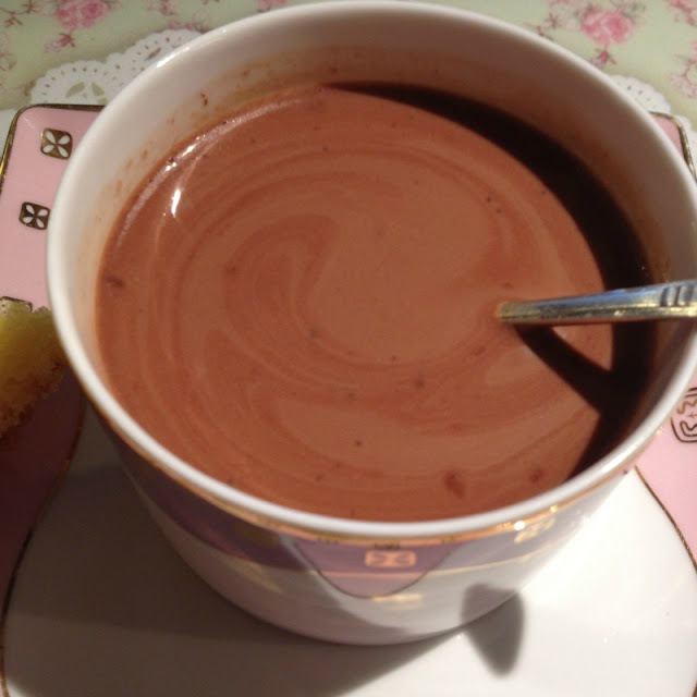 Le Chocolat chaud de ma grand-mère Georgette