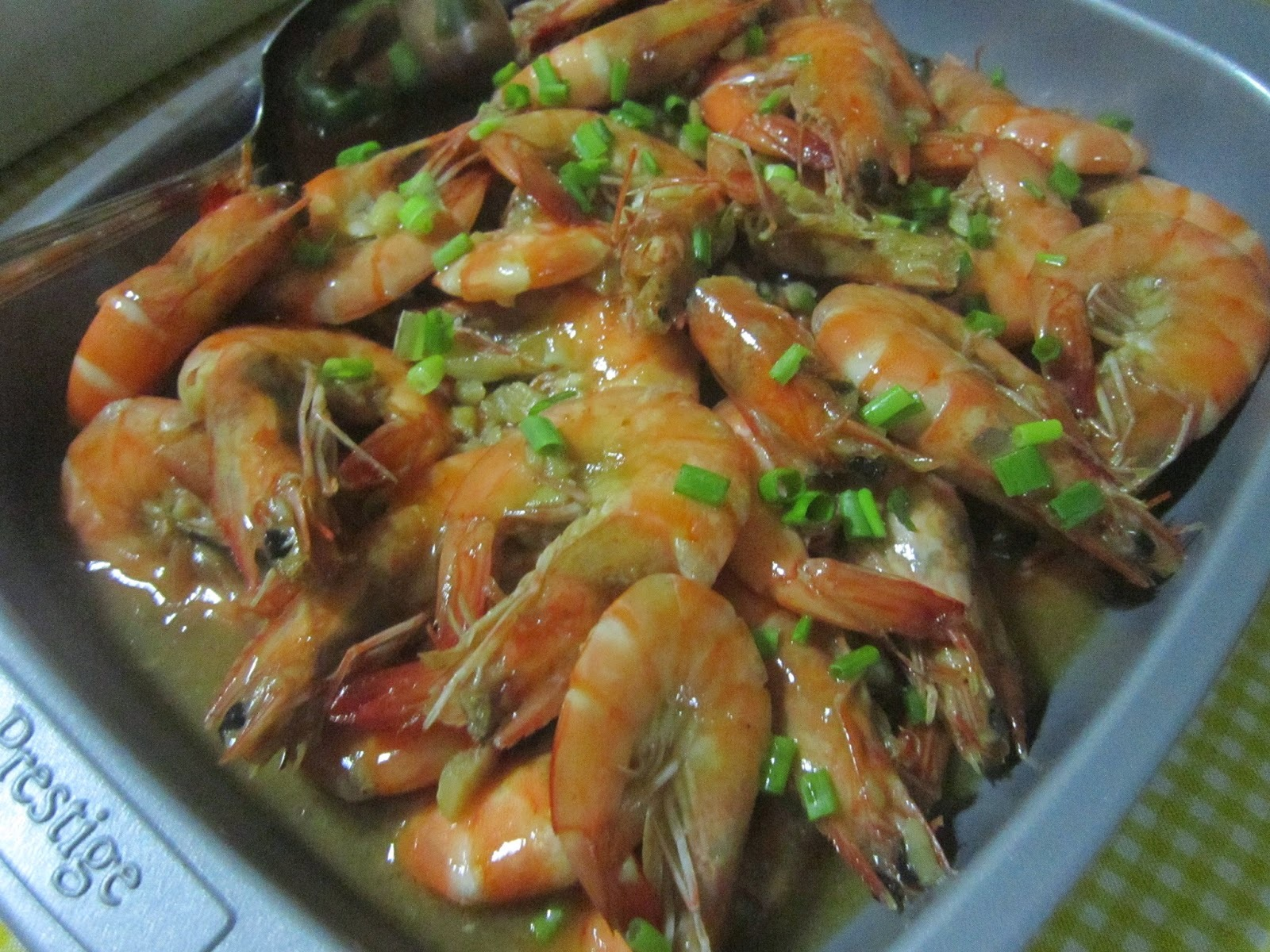NILASING na HIPON in BUTTER GARLIC SAUCE