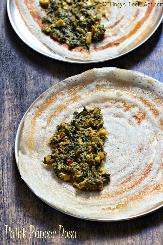 palak paneer without grinding