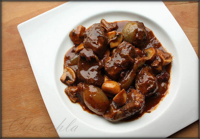 Boeuf bourguignon Julii Child
