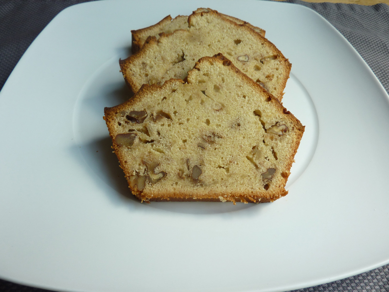 BANANA AND NUT BREAD (TRADICIONAL)