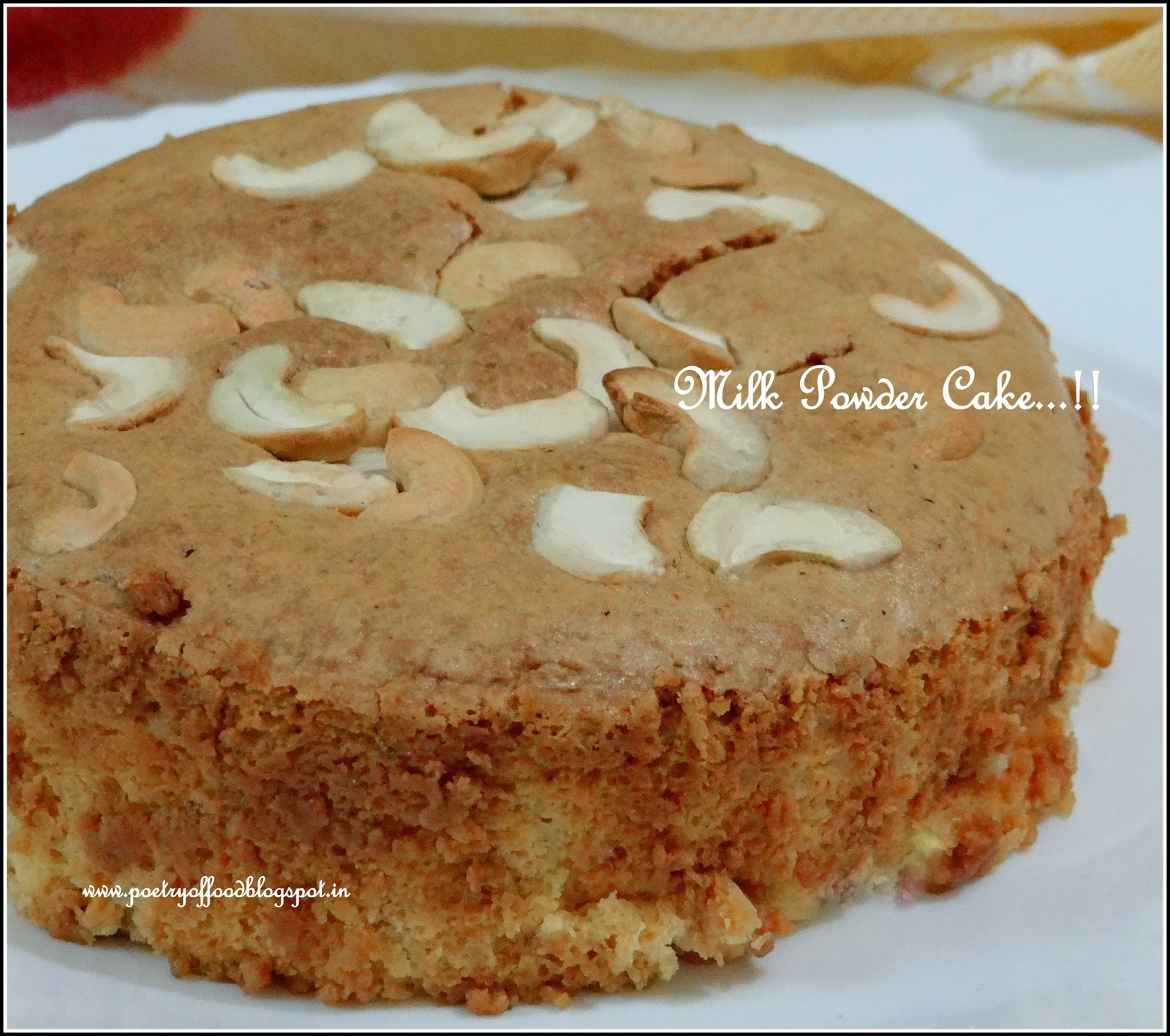 Milk Powder Cake...!!!