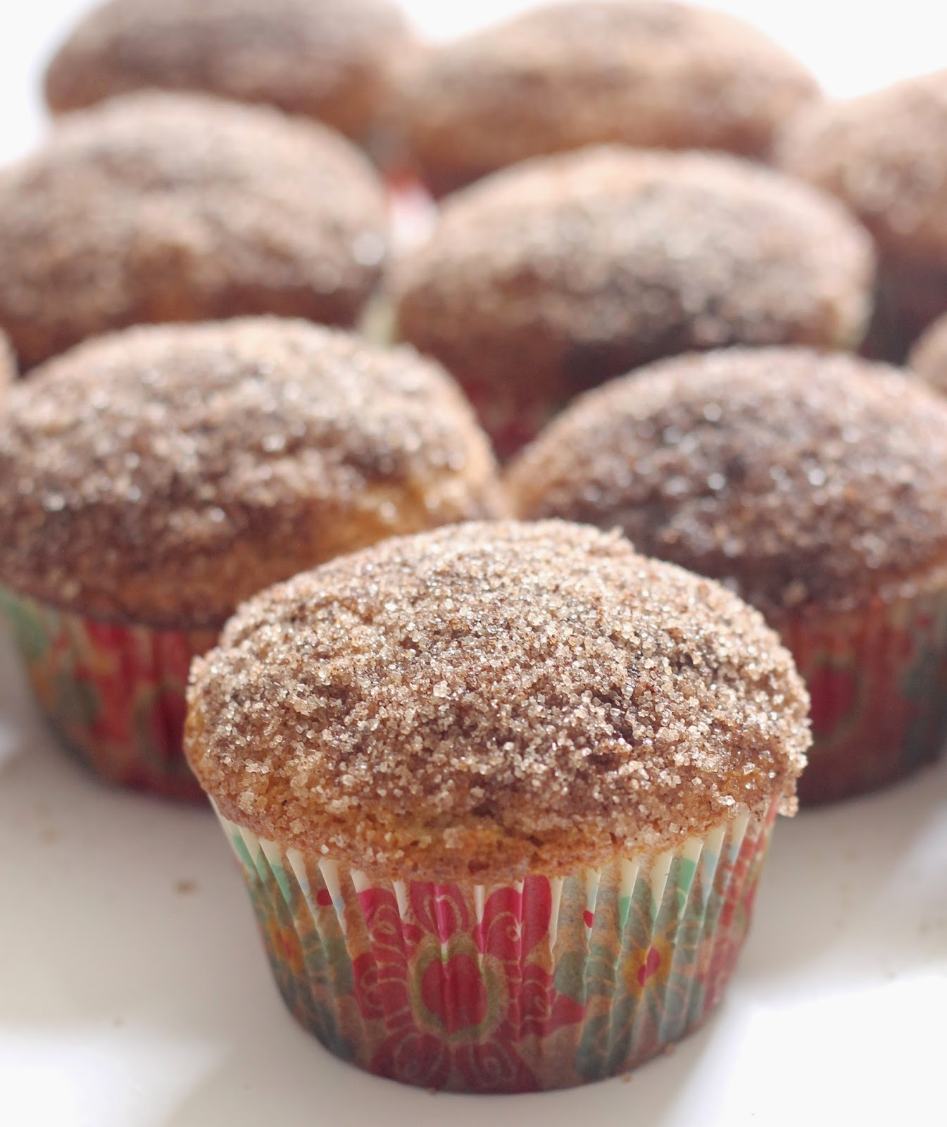 Cinnamon and Sugar  Muffins with Essential Oil
