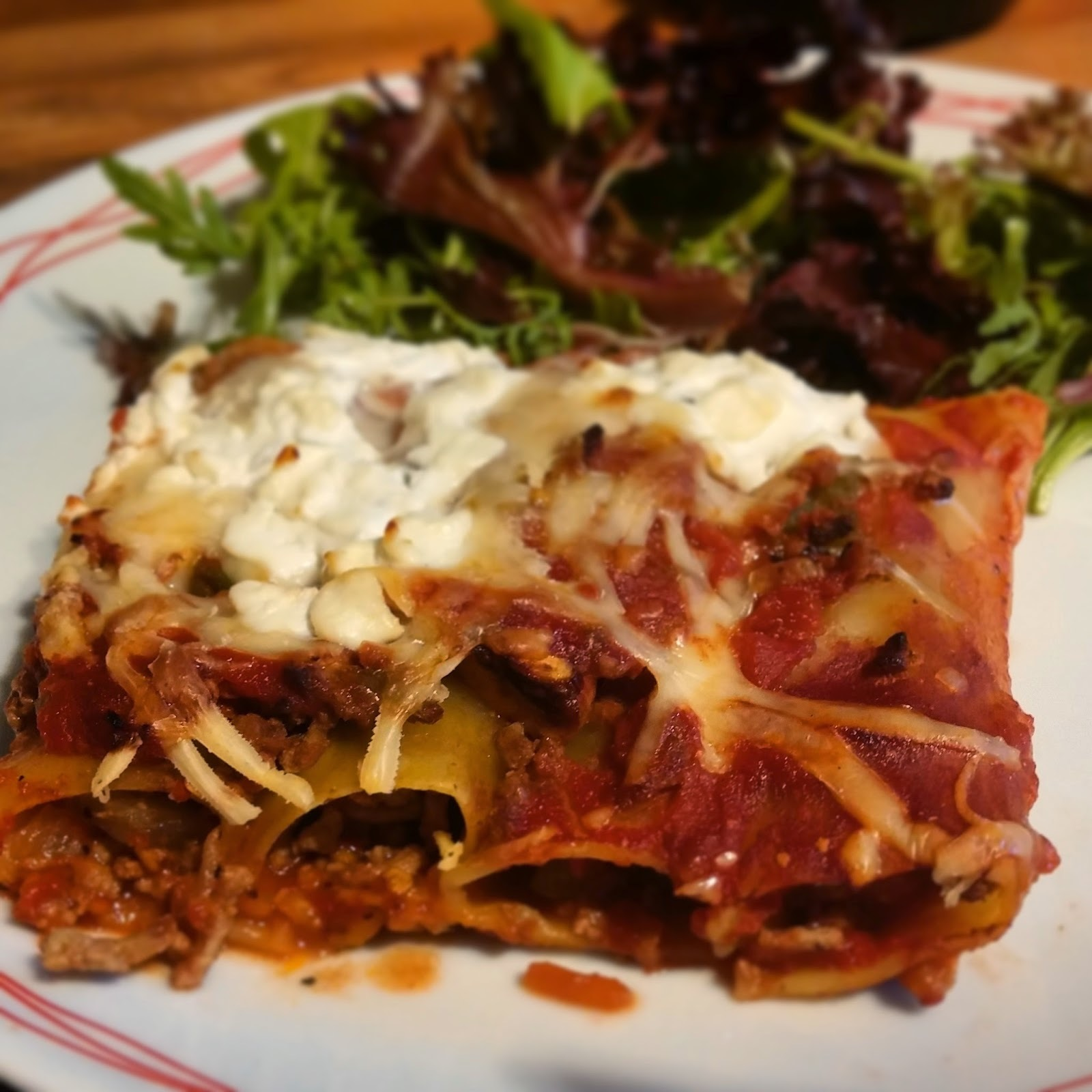 slimming world beef cannelloni recipe
