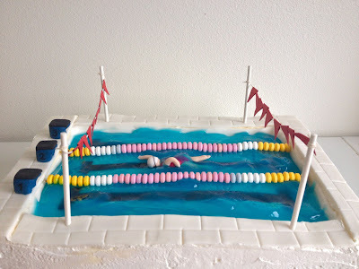 Uimarin rippikakku - Swimming Pool Cake