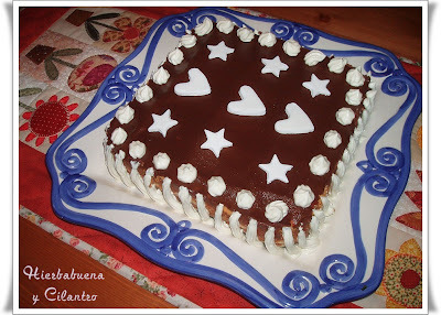 tarta de galletas maria y natillas