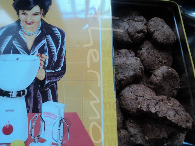 Galletas cookies de chocolate y nuez con espelta (TMX)