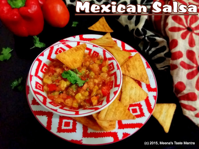 Mexican Salsa - A delicious dip with fresh ingredients!