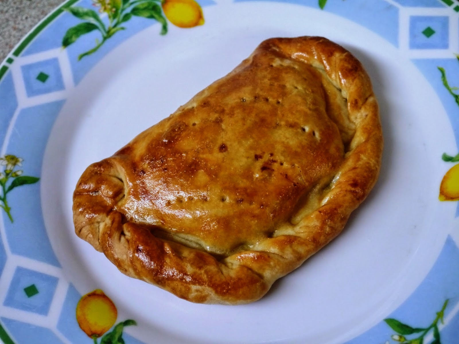 Cheese and Onion Pasties: Pastry Week!