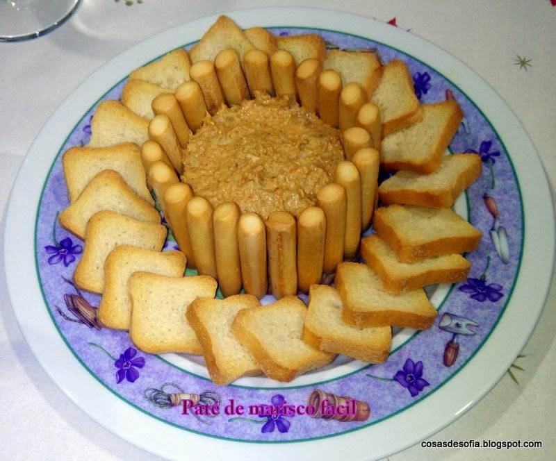 Paté de marisco superfacil