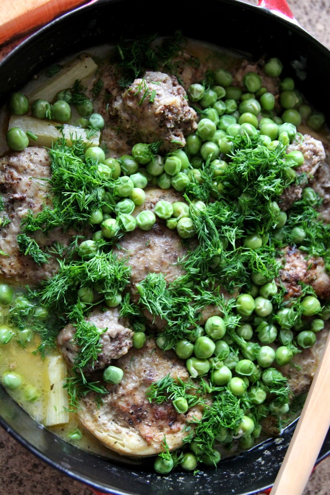 Stuffed Artichokes with Peas & Dill: another Ottolenghi!