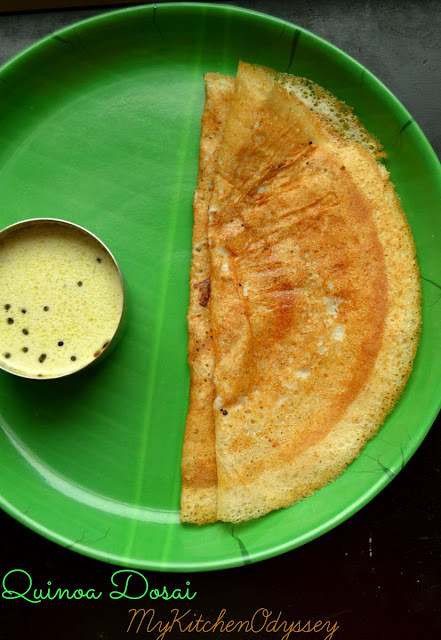 Quinoa Dosa | South Indian Breakfast Recipes | Quinoa Indian Recipes
