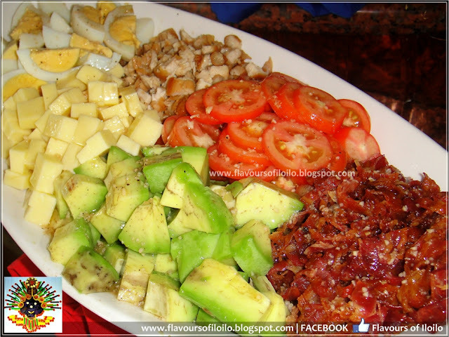 Cobb Salad and more at Days Hotel Iloilo's American Lunch Buffet