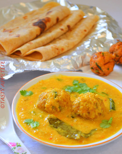 How to make Pakoda Korma / Easy Step-by-step Recipe :