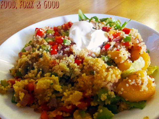 Roasted Rainbow Cous Cous