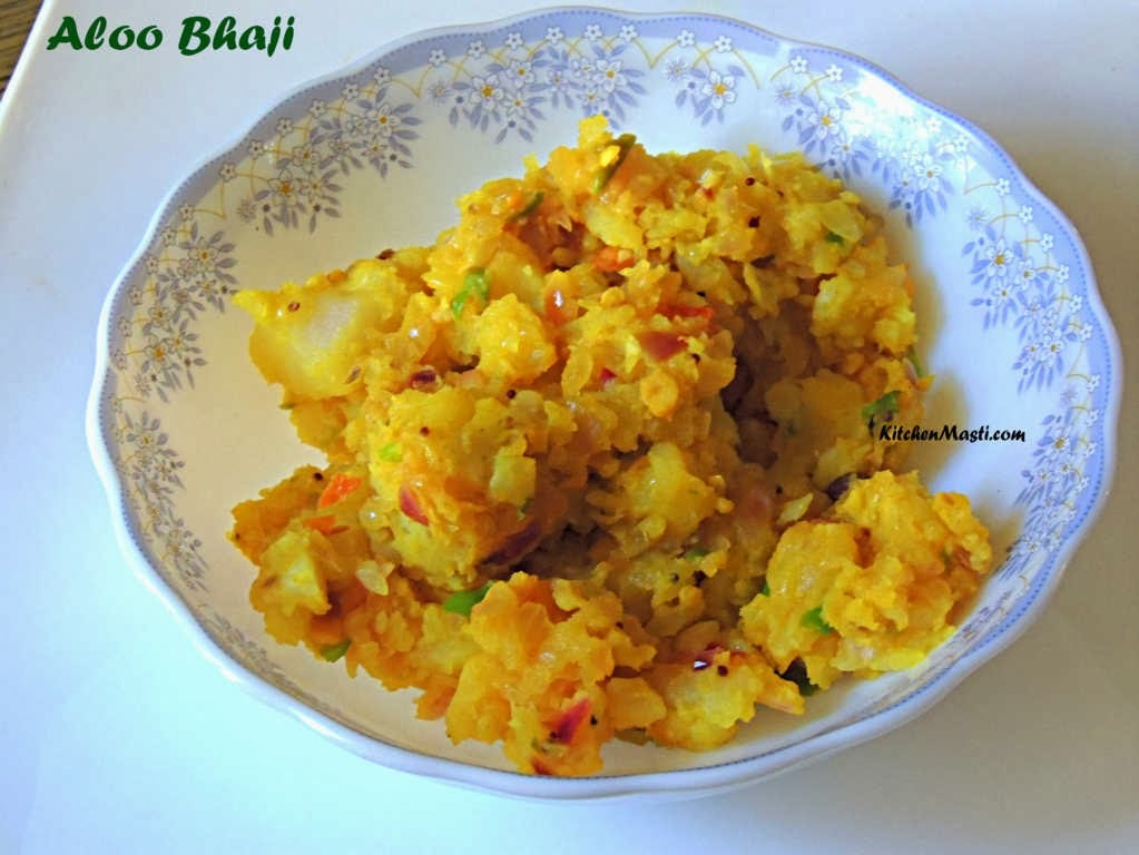 Aloo Bhaji ( Potato Bhaji ) Recipe