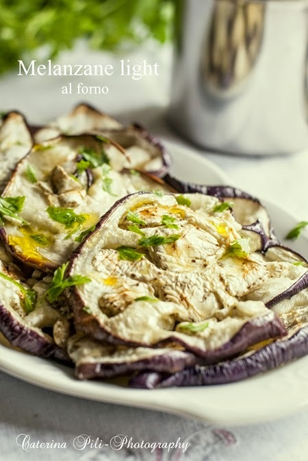Melanzane light al forno