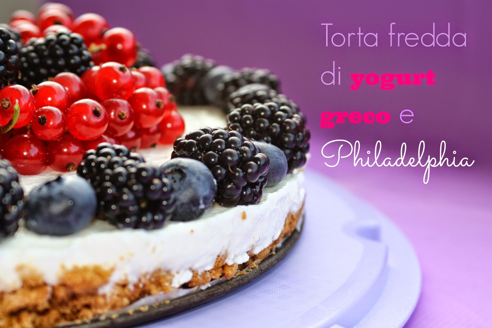 "Se proprio insisti… - Cheesecake ""quasi"" light"