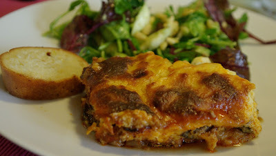 A comforting moussaka