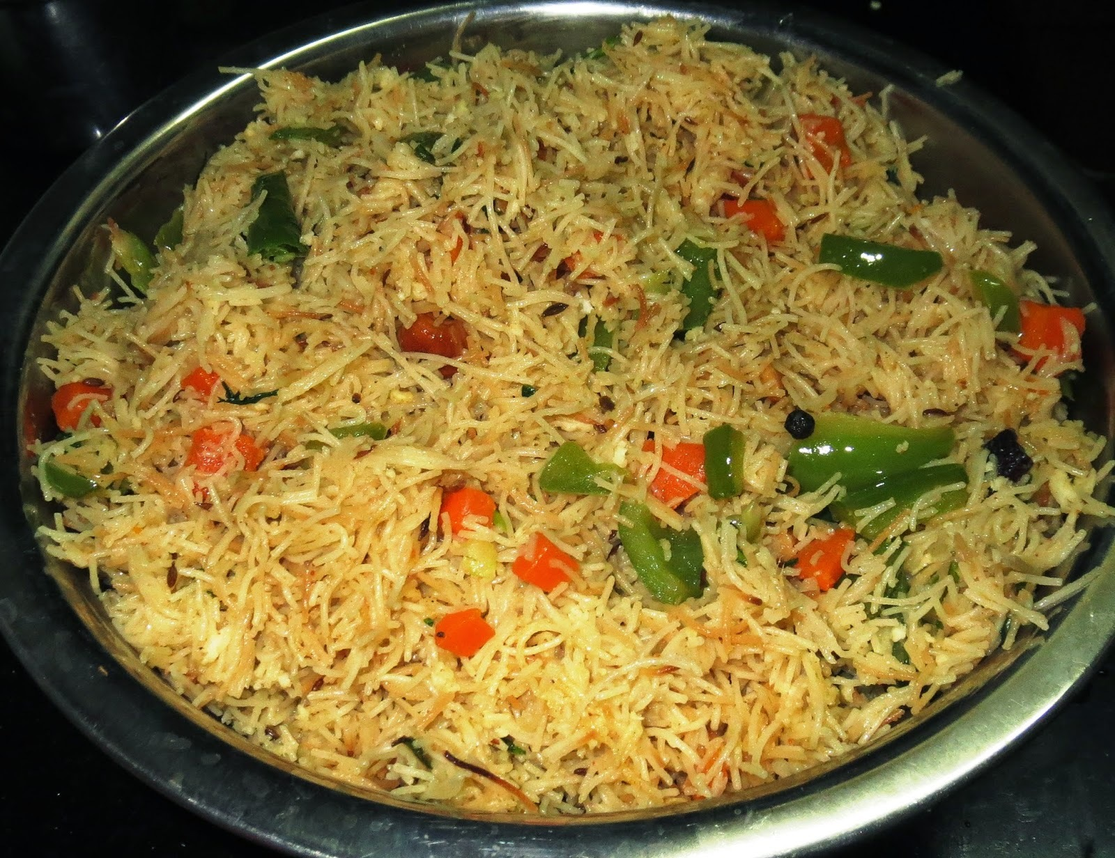 Simple Shavige Pulav