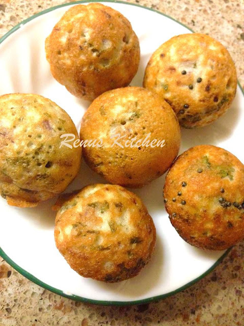 Mixed Daal Appe (Paddu)
