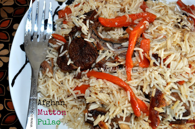 afghan brown basmati rice recipe