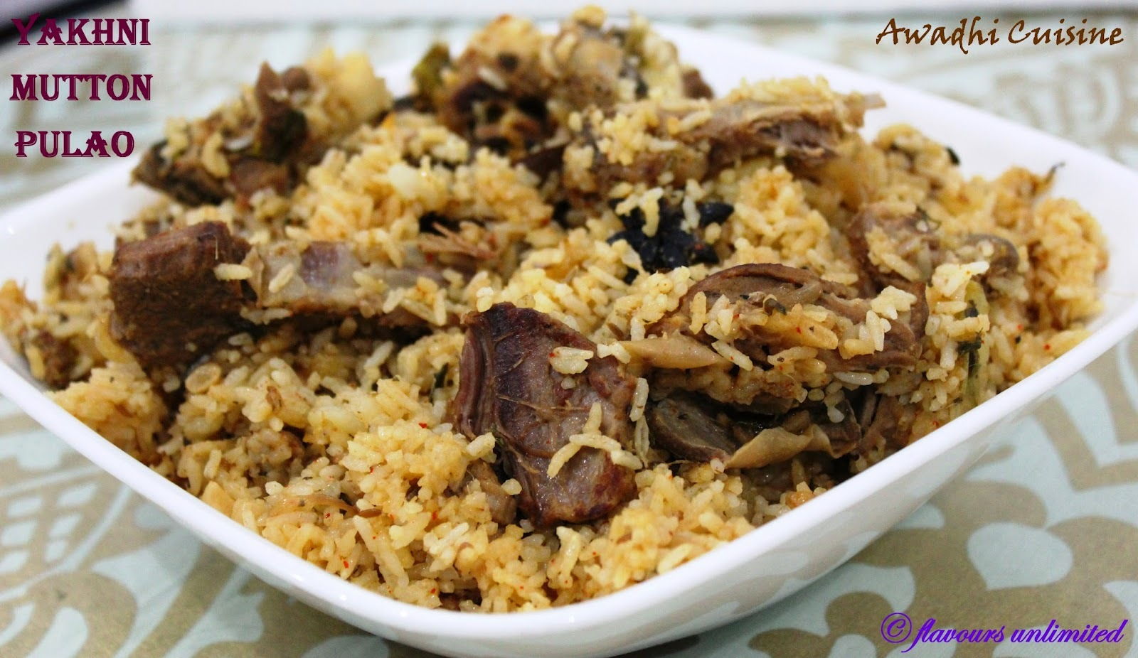 Eid mubarak to All... Make Mutton Yakhni Pulao Straight from  Awadh