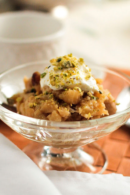 Sweet, Delicious Apple Halwa. Gluten Free.