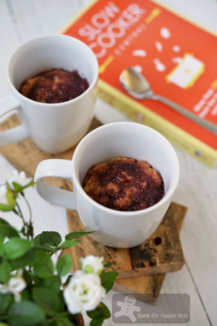 Jam Pudding in a Mug (Slow Cooker Central)