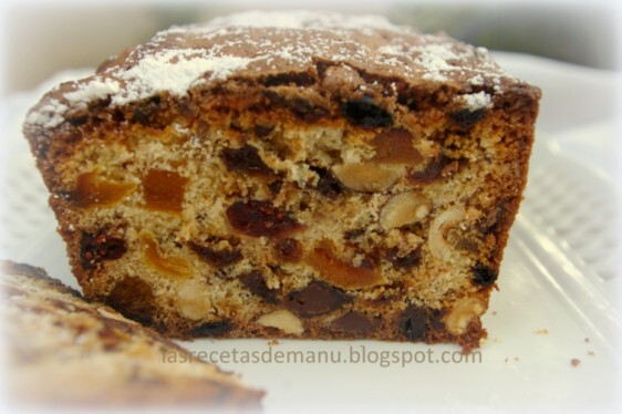 PLUM CAKE DE FRUTOS SECOS