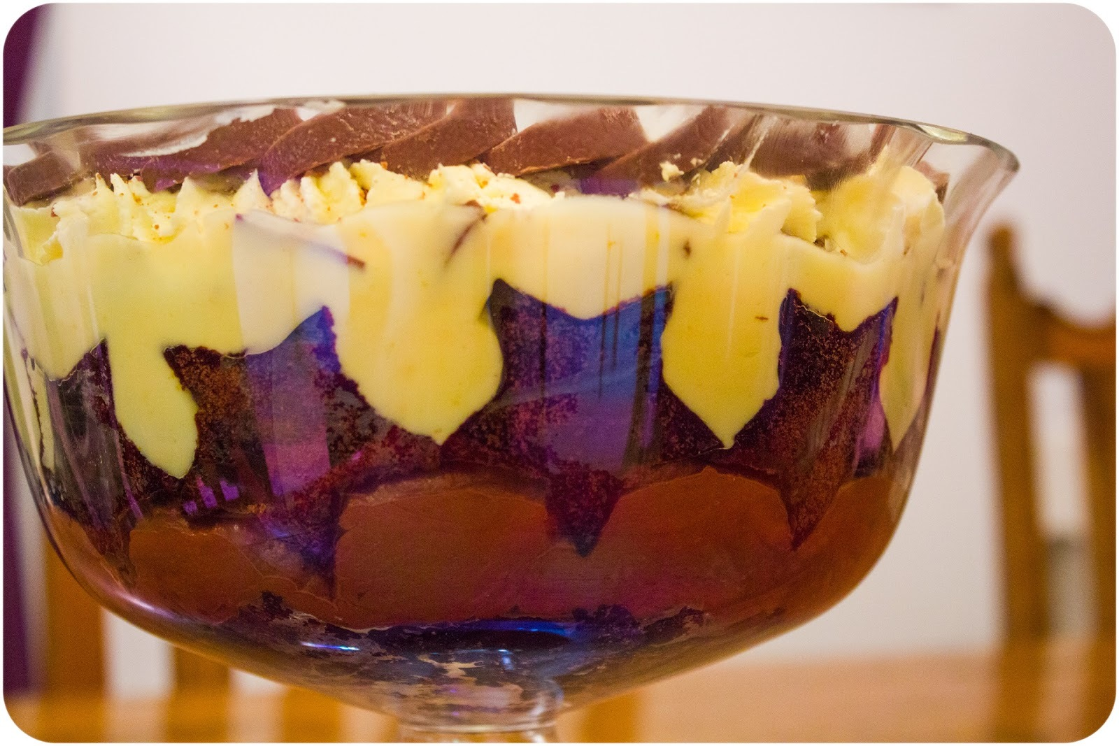 Chocolate Orange Brownie Trifle: A Christmas Day Showstopper!