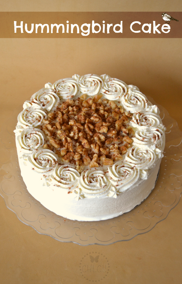 HUMMINGBIRD CAKE  (Thermomix)