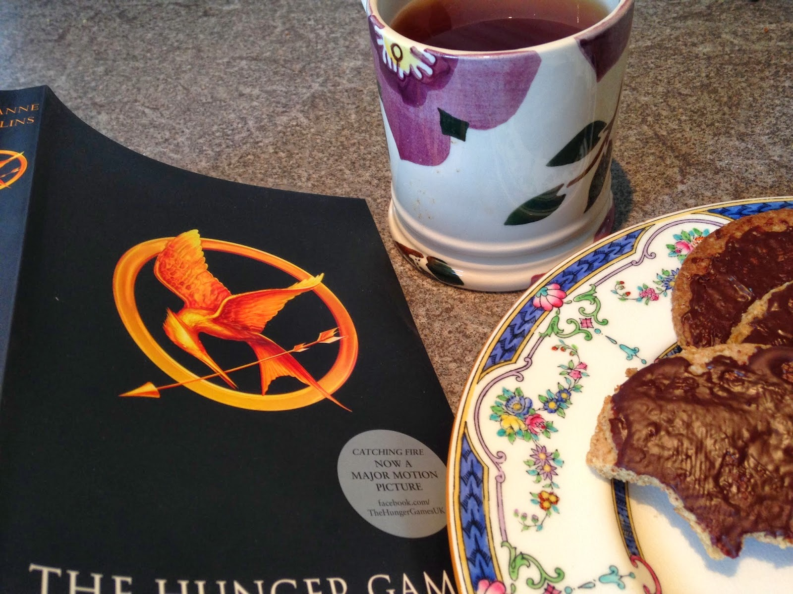 The Hunger Games - and Chocolate Digestives