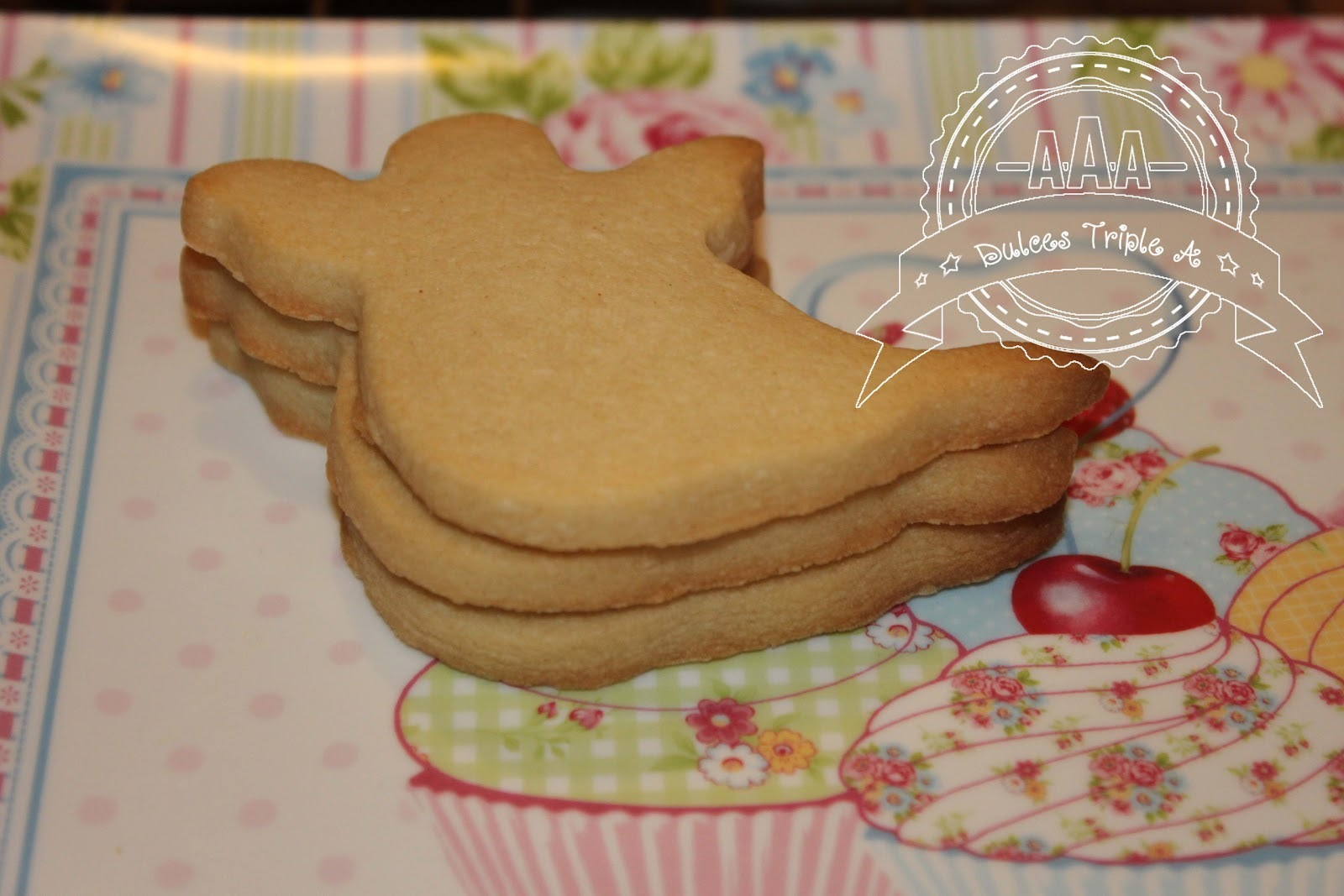 Receta Básica de Galletas para Decorar. Tutorial