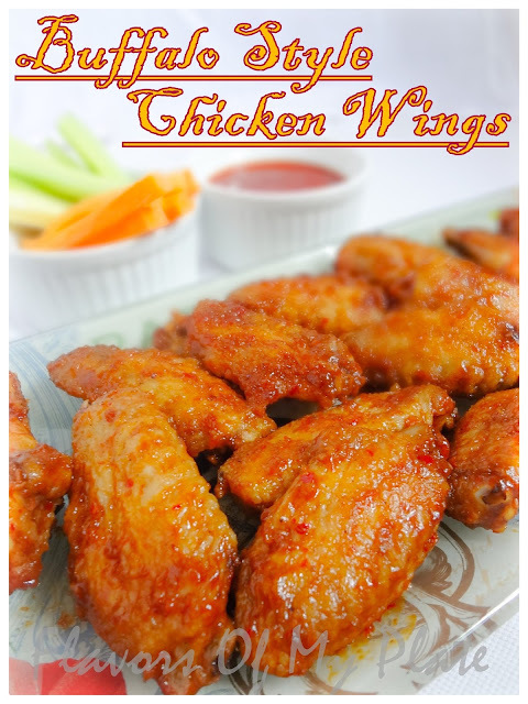 Buffalo Style Chicken Wings......And Our Love For Buffalo Wild Wings
