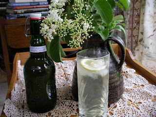 Fine Spring Sipping - Elderflower Cordial
