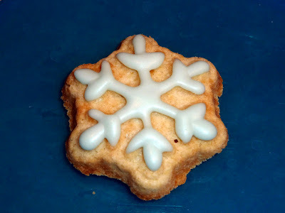 Spritz Cookies with Royal Icing