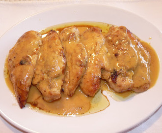 Recetas de salsa para pollo al horno mytaste - Salsas para el pollo al horno ...