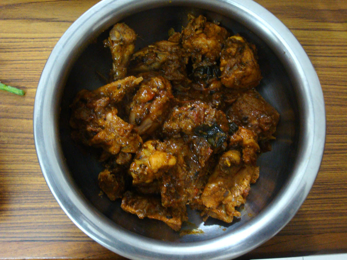 Chettinad Chicken Recipe